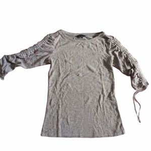 3/4 Sleeve, Tied Blouse